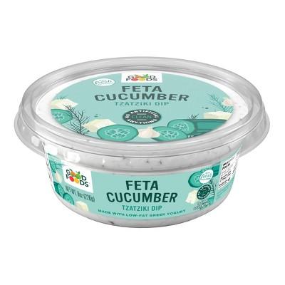 Good Foods Feta Cucumber Dip - 8oz