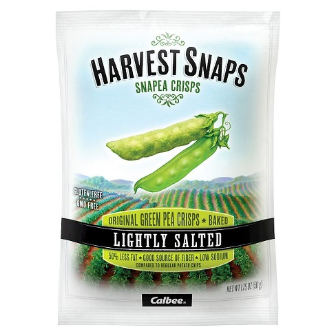 Calbee Harvest Snaps Lightly Salted Green Pea Crisps - 1.75oz - image 1 of 1