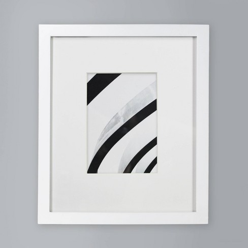 """Single Picture Frame 5"""" x 7"""" White - Made By Design™ - image 1 of 4"""