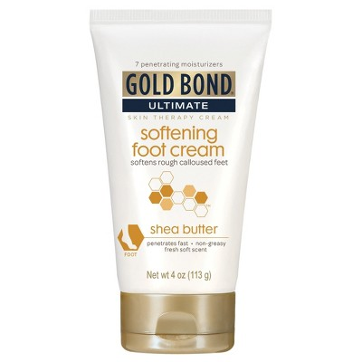 Body Lotions: Gold Bond Softening Foot Cream