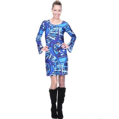 Women's Scoop Neck Juliana Dress - White Mark
