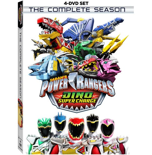Power Rangers Dino Super Charge:Compl (DVD) - image 1 of 1