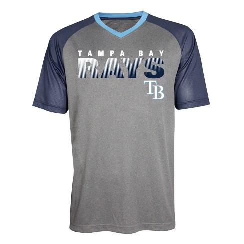 100% authentic 54182 b3ba1 MLB Tampa Bay Rays Men's Gametime V-Neck Jersey