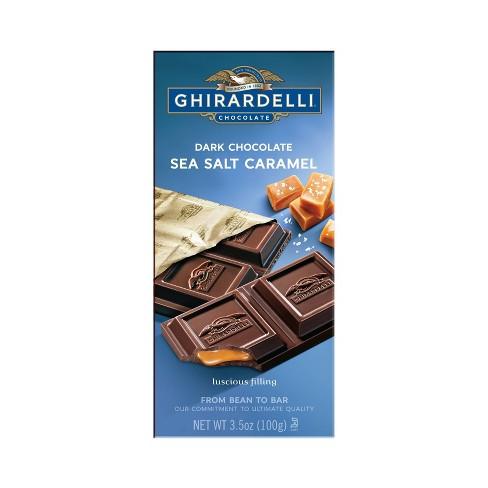Ghirardelli Dark Chocolate & Sea Salt Caramel Bar - 3.5oz - image 1 of 3