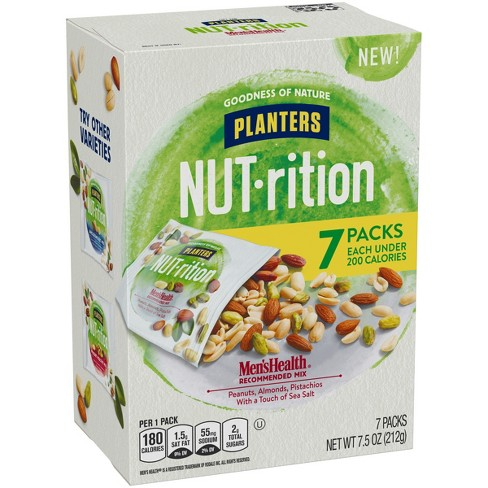 Planters Nut-Rition Men's Health Mix - 6ct - image 1 of 3