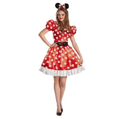 Adult Minnie Classic Halloween Costume S