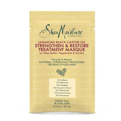 SheaMoisture Jamaican Black Castor Oil Strengthen & Restore Treatment Masque - 2oz