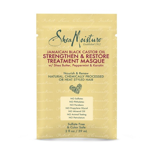SheaMoisture Jamaican Black Castor Oil Strengthen & Restore Treatment Masque - 2oz - image 1 of 1