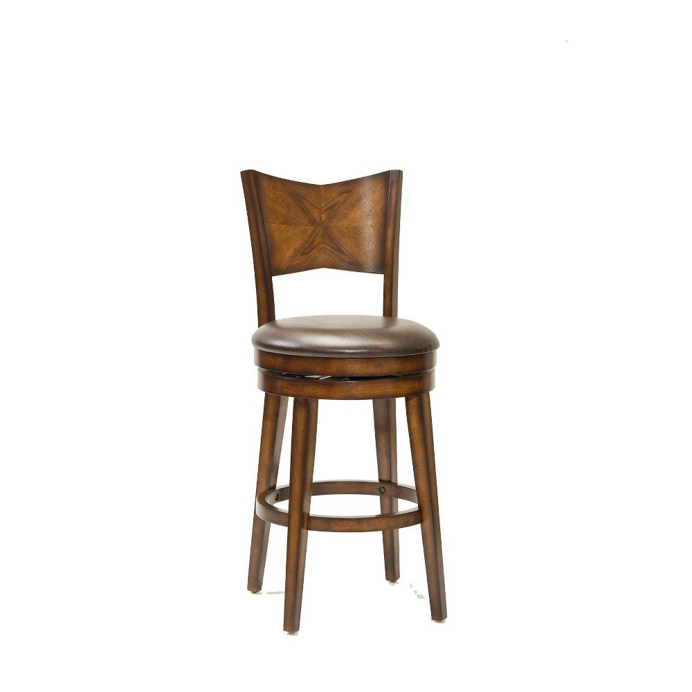 30.5 Jenkin Barstool Wood Composite/Brown - Hillsdale Furniture Cheap
