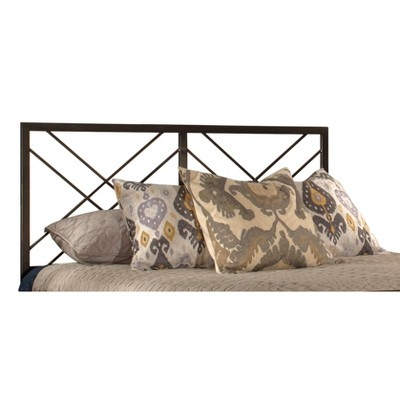 Westlake Metal Headboard King Magnesium Pewter - Hillsdale Furniture