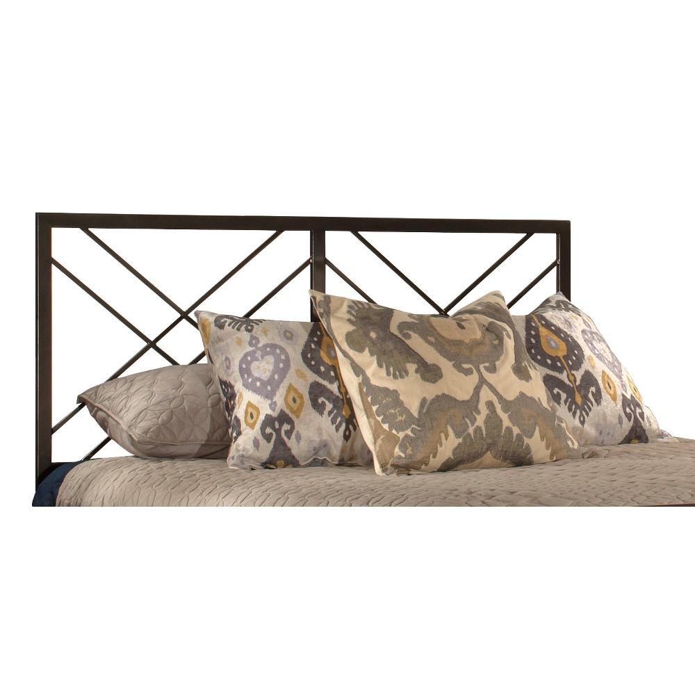Westlake Metal Headboard King Magnesium Pewter - Hillsdale Furniture, Silver