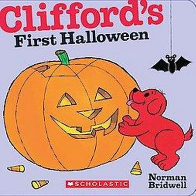 Clifford's First Halloween - (Clifford the Big Red Dog)by Norman Bridwell (Board Book)