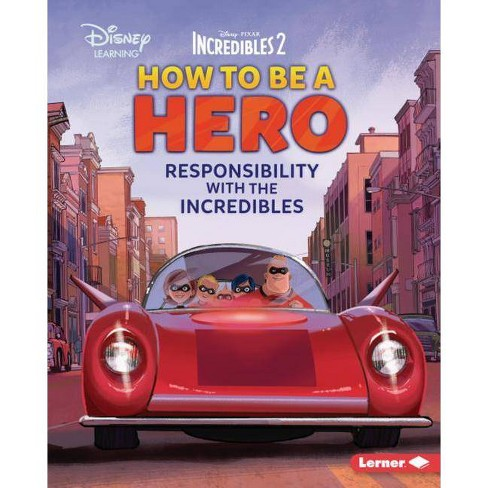 How to Be a Hero - (Disney Great Character Guides) by  Jennifer Boothroyd (Hardcover) - image 1 of 1