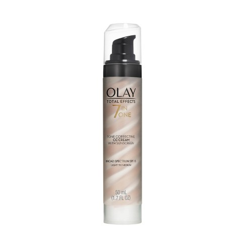 Olay Total Effects 7-In-One Tone Correcting Moisturizer - Light/Medium - SPF 15 - 1.7oz - image 1 of 4