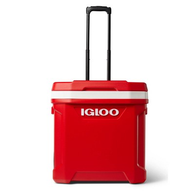 Igloo Latitude 60qt Roller Portable Cooler - Red