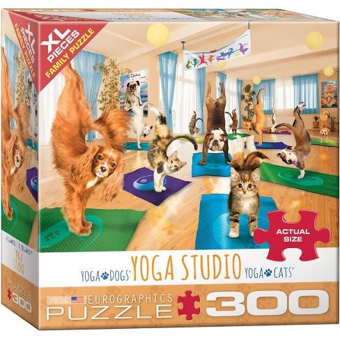Eurographics Inc. Yoga Studio 300 Piece XL Jigsaw Puzzle - image 1 of 4