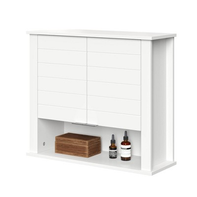 Madison Collection Two Door Wall Cabinet White - RiverRidge Home