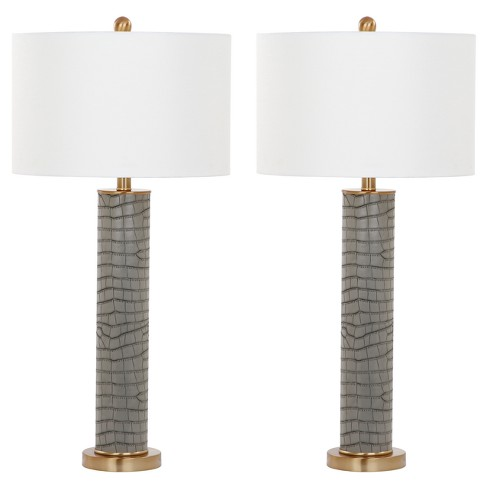 Astounding Ollie Ceramic Table Lamp Set Of 2 Safavieh Dailytribune Chair Design For Home Dailytribuneorg