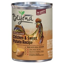Purina Beyond Grain Free, Natural Gravy Wet Dog Food, Grain Free Chicken & Sweet Potato Recipe - 12.5oz