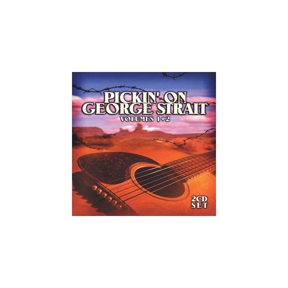 Various - Pickin On George Strait Volume 1 & 2 (CD)