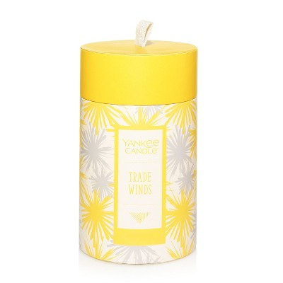 Yankee Candle 12oz Pillar Candle with Paper Lid Trade Winds