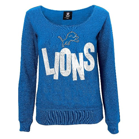 Detroit Lions Girls Open Neck Fleece L - image 1 of 1