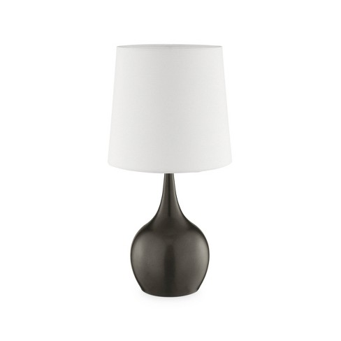 Niyor Powder Touch Metal Table Lamp Gray (Lamp Only) - Ore International - image 1 of 2
