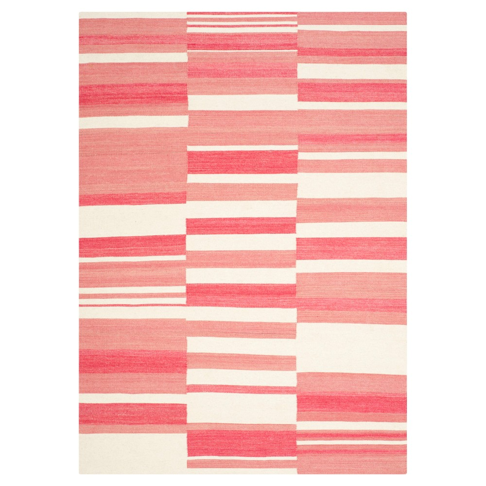 Trevian Area Rug - Pink / Ivory (5' X 8') - Safavieh, Pink/Ivory