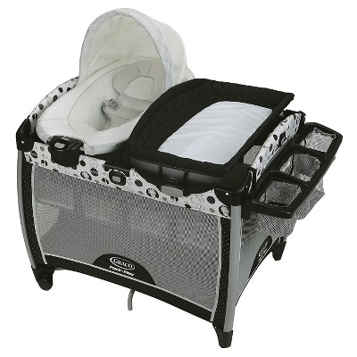Graco® Pack 'n Play Quick Connect Portable Bouncer with Bassinet - Balancing Act