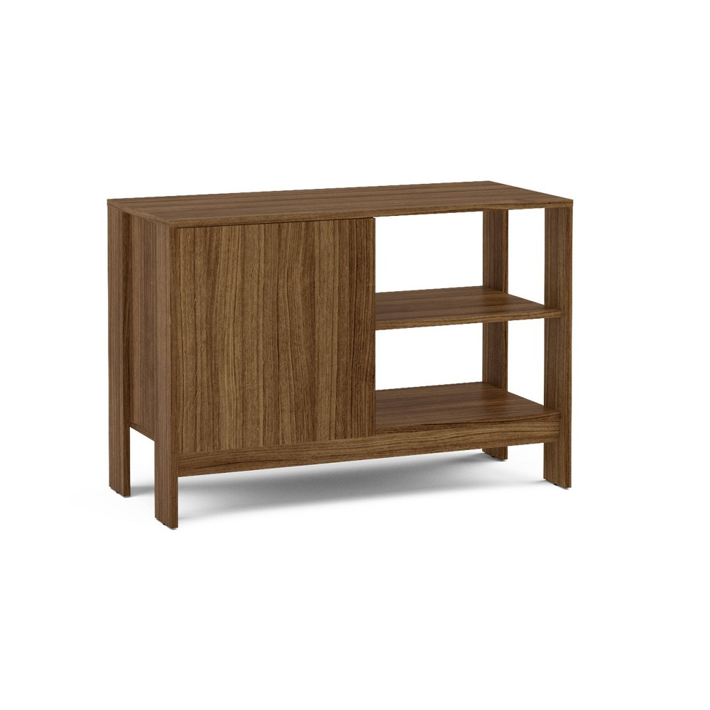 "Image of ""35"""" Quincy TV Stand Walnut - Chique, Brown"""