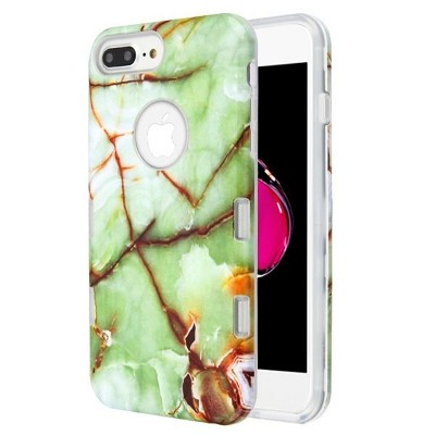 MYBAT Tuff Onice Verde Persiano Marble Hard Case For Apple iPhone 6 Plus/6s Plus/7 Plus/8 Plus, Green