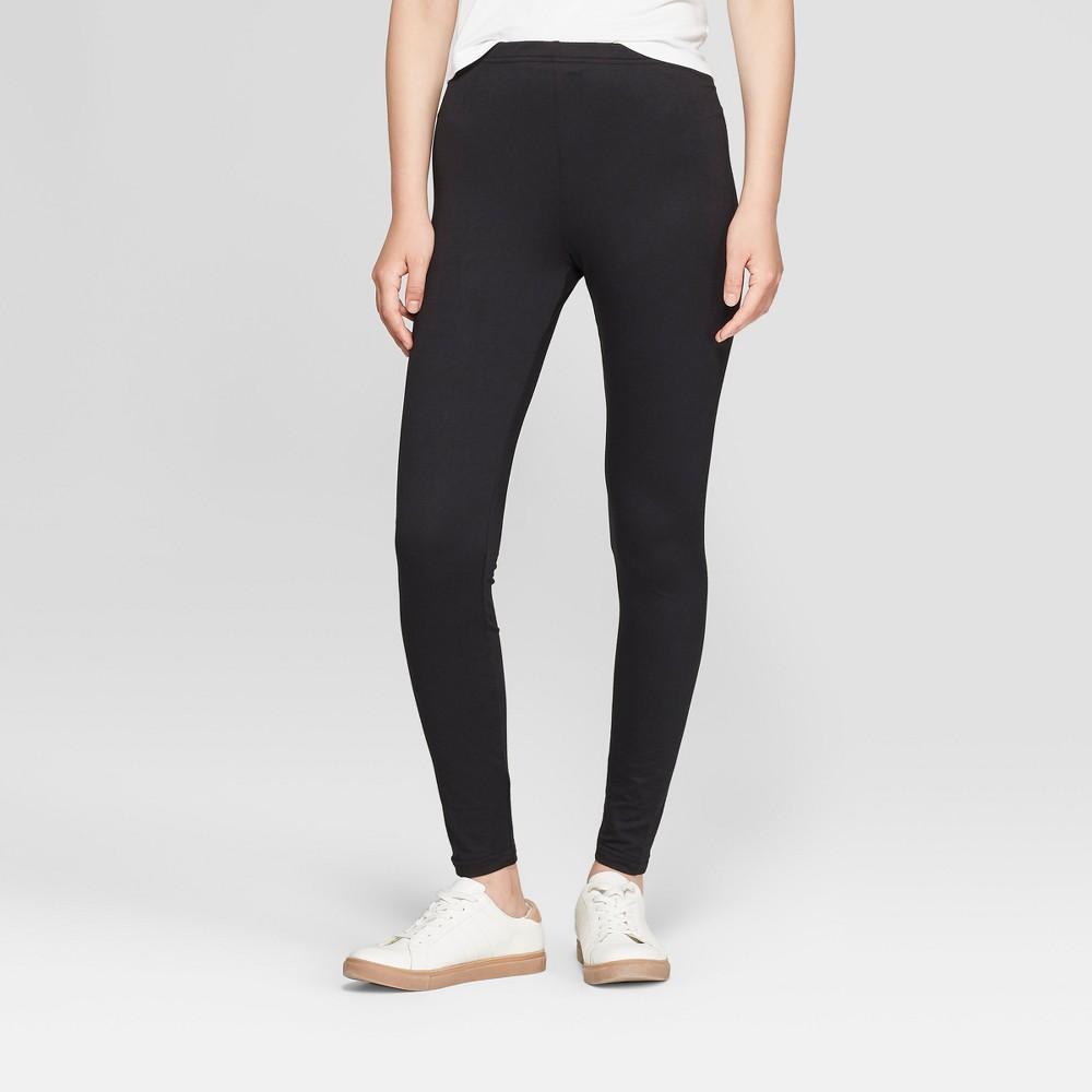 Women's Super Soft Leggings - Xhilaration Black M