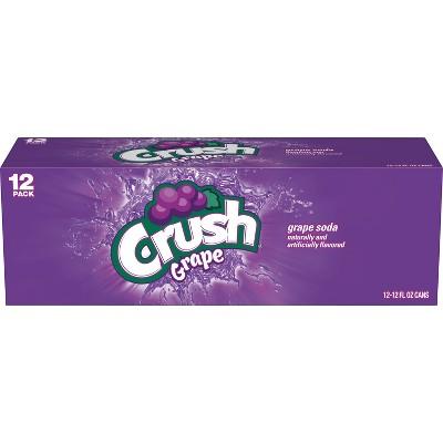 Crush Grape Soda - 12pk/12 fl oz Cans