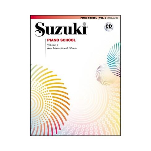 Suzuki Suzuki Piano School New International Edition Piano Book and CD Volume 1 - image 1 of 1