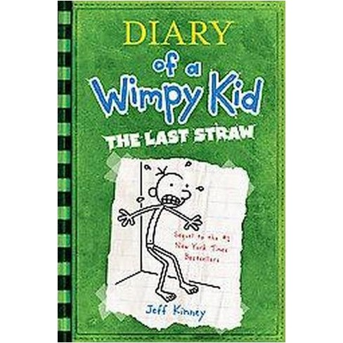 Diary Of A Wimpy Kid The Last Straw By Jeff Kinney Hardcover By Jeff Kinney Target