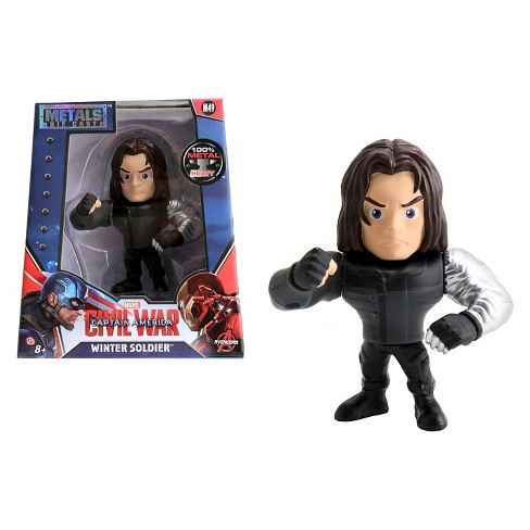 "Metals - 4"" figures - Winter Soldier - M49 - image 1 of 5"