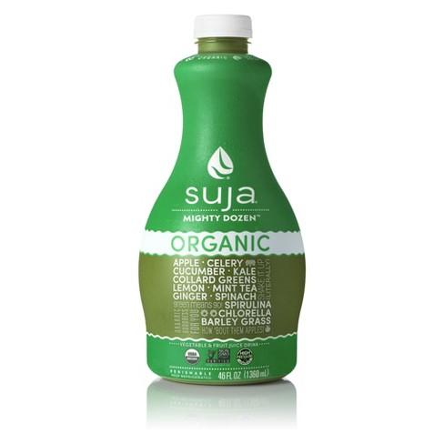 Suja Organic Vegan Mighty Dozen Fruit and Vegetable Drink - 46oz - image 1 of 1
