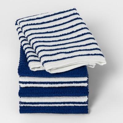 Dancing Blue Stripe Dish Cloth - Room Essentials™