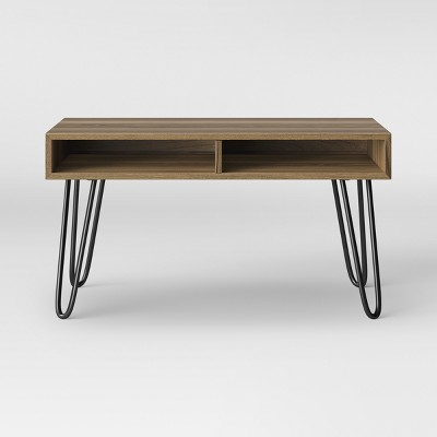 Hair Pin Coffee Table Espresso Brown - Room Essentials™