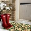 tag Holiday Berries Estate Coir Mat Multi Renewable Coconut Fiber Doormat Christmas Xmas Holiday - image 2 of 4