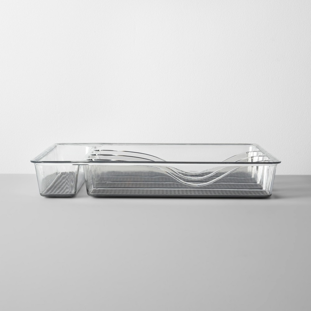 Image of Acrylic Drawer 5 Compartment - Made By Design , Size: 5 Bin, Clear