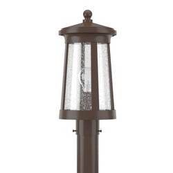 "Park Harbor PHEL3103 Woodberry 17"" Tall Single Light Outdoor Post Light"