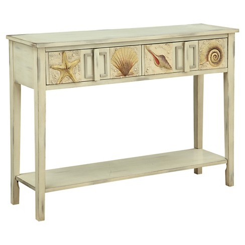 Coastal Console Table Sand Christopher Knight Home