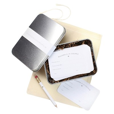 24ct 'Wishes for the Couple' Gift Tin