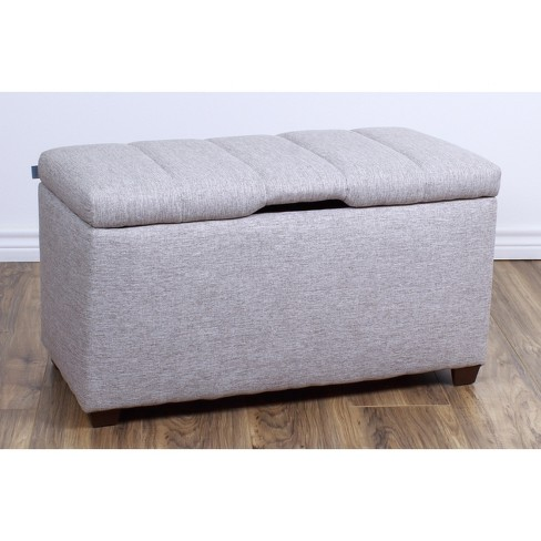 Strange Bedroom Storage Ottoman Bench The Crew Furniture Creativecarmelina Interior Chair Design Creativecarmelinacom