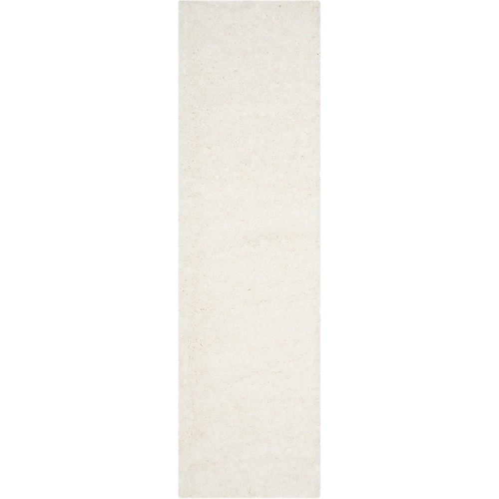 2'3X10' Solid Loomed Runner Light Gray - Safavieh