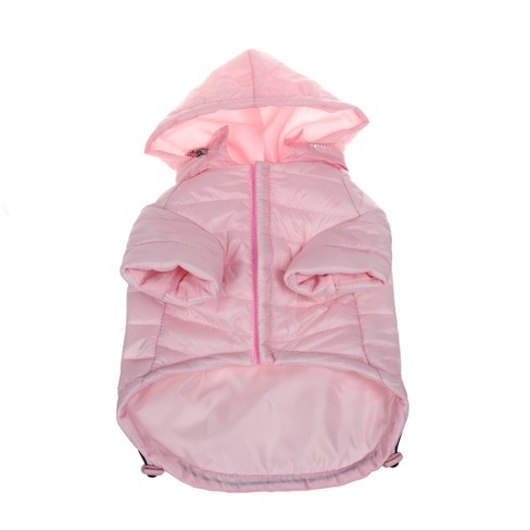 Lightweight Adjustable 'Sporty Avalanche' Pet Coat - Pink - image 1 of 4
