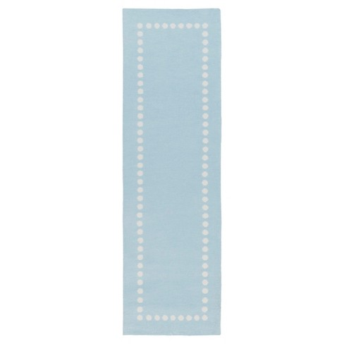 "2'7""X8'2"" Geometric Runner Air Blue - Surya - image 1 of 1"