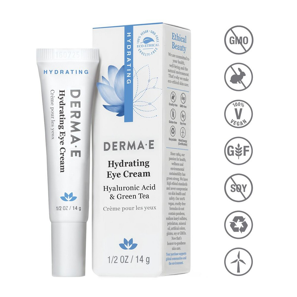 Image of Derma E Hydrating Eye Cream - 0.5 oz