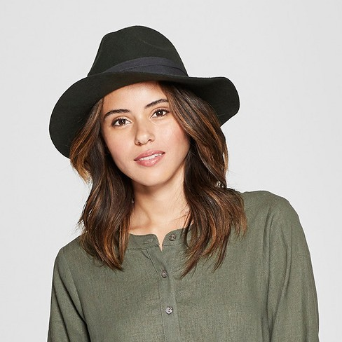 Women s Panama Hat - Universal Thread™ Olive   Target 3bf4881b692
